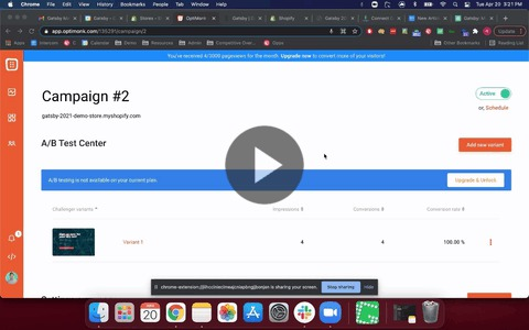 Edit Optimonk Integration
